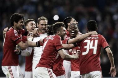 El Benfica finalista de la Taça da Liga