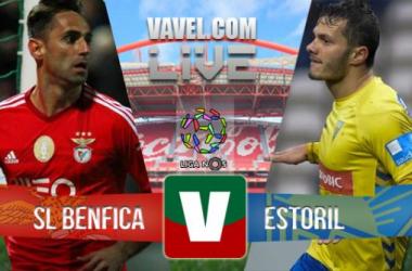 Resultado Benfica - Estorilen la Liga Portuguesa 2015(6-0)