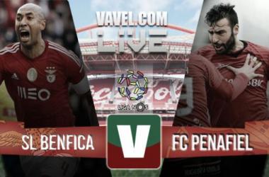 Resultado Benfica - Penafiel en la Liga Portuguesa 2015 (4-0)
