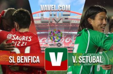 Resultado Benfica - Vitória Setúbalen la Liga Portuguesa 2015(3-0)