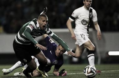 Slimani já foi decisivo em Guimarães