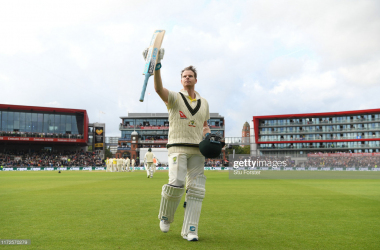 Smith made 211 as England's Ashes hopes dwindled (Photo: Getty Images)