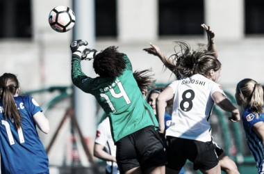 Abby Smith secured a confident shutout for the Breakers. Source: Sky Blue FC