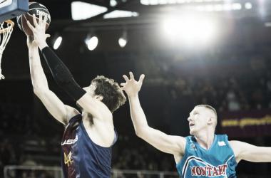 Smits con Fuenlabrada la pasada temporadad/ Foto: FC Barcelona Lassa