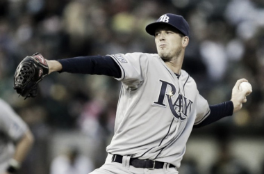 Smyly achieved his first win of the 2016 season. He now owns a 2.91 ERA (Credit: Tampa Bay Rays)
