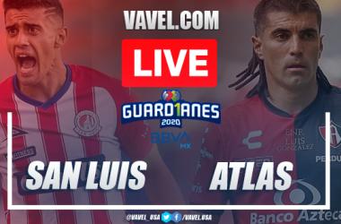 Goals and Highlights: Atlético de San Luis 1-1 Atlas in 2020 Liga MX