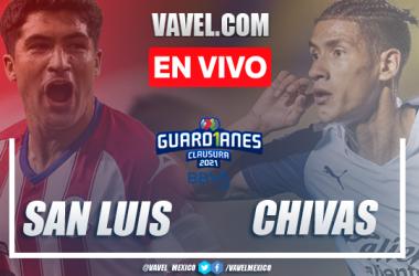 Goles y Resumen del Atlético de San Luis 3-1 Chivas en la jornada 3 del Guard1anes 2021