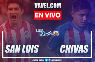 Goles y Resumen: Atlético San Luis 2-2 Chivas en Liga MX 2020