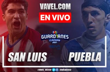 Goles y resumen: Atlético San Luis 1-4 Puebla Liga MX Guardianes 2021