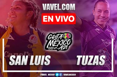 Goles y resumen del Atlético San Luis Femenil 1-1 Pachuca Femenil en Amistoso 2021
