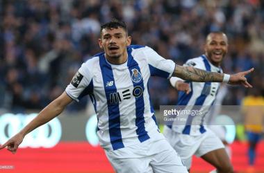 Soares resolveu frente ao Braga. GettyImages