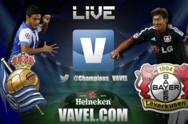 Live Real Sociedad - Bayer Leverkusen in Champions League