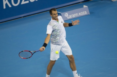 Lukas Rosol teams up with Mariusz Fyrstenberg to upset the top seeds in doubles/Garanti Koza Sofia Open