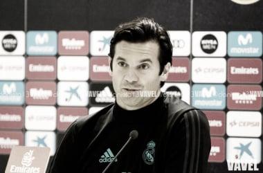 """Solari: """"Estamos muy contentos con Vinicius y con su rendimiento actual""""."""