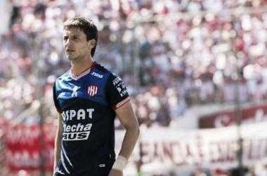 """Franco Soldano, goleador del """"Tatengue"""". Foto: Clarín."""