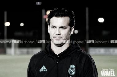 Solari sigue perdiendo puntos como técnico blanco. Foto: Daniel Nieto (VAVEL).