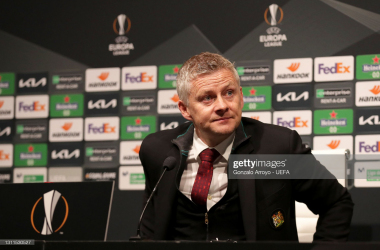 Solskjaer reacts to victory in Granada