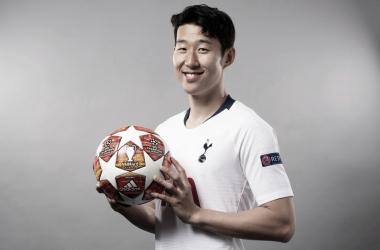 Son Heung-min   foto : twitter oficial Tottenham Hotspur
