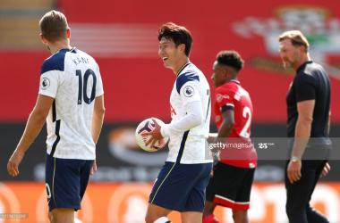 Southampton 2-5 Tottenham Hotspur: Goal fest as Son and Kane shine