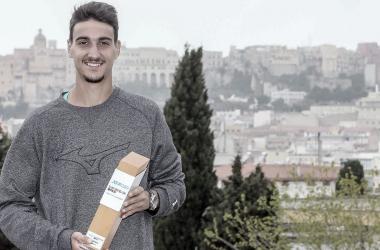 Lorenzo Sonego venceu Laslo Djere no ATP 250 de Cagliari 2021 (ATP / Divulgação)