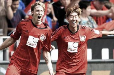 DKMS es la actual publicidad que lucen las camisetas del Leverkusen (Foto: sportsnippets.com).