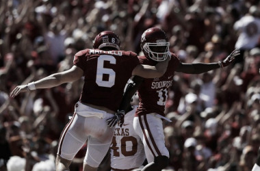 Oklahoma hold off Texas 45-40 in highest scoring Red River Showdown of all time