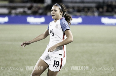 Sophia Smith will train with the USWNT in Texas for the next week. | Source: Jenny Chuang - VAVEL USA
