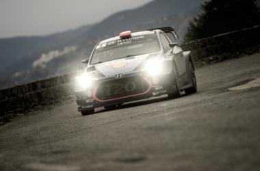Dani Sordo a bordo del Hyundai I20 WRC / foto:wrc.com