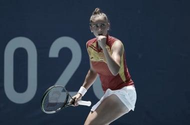 Sorribes, Muguruza y Carla Suárez destacan en primera ronda del tenis femenino
