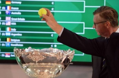 Sorteo de la Copa Davis (www.daviscup.com)