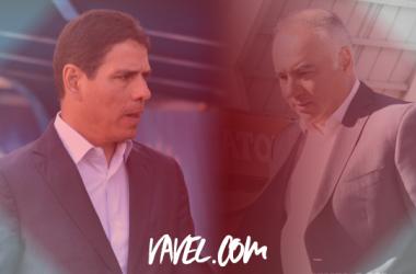 Sosa y Vázquez, dos técnicos con historia en común