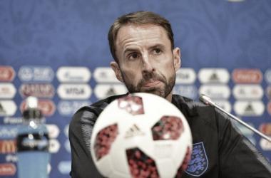 Gareth Southgate após Itália 1 (3) a (2) Inglaterra (FA / Divulgação)