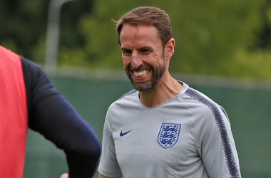 Gareth Southgate took a youthful looking squad to Croatia | Photo: soccer.ru