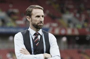 El seleccionador inglés Gareth Southgate