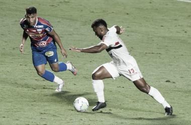 São Paulo e Fortaleza se enfrentam neste sábado, no Morumbi (Foto: Maurício Rummens/Agência Lancepress!)