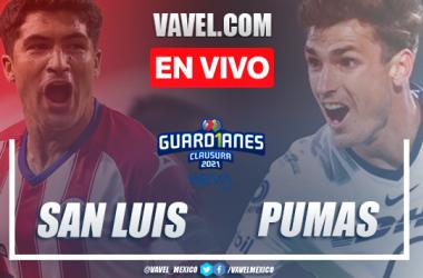 Resumen y gol: Atlético de San Luis 0-1 Pumas UNAM en Jornada 12 de la Liga MX Guard1anes 2021