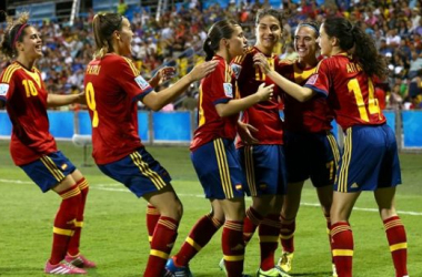 Siete representantes españolas tras los subcampeonatos de Europa y del mundo.   Foto: FIFA.