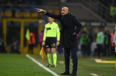"""Inter - Spalletti: """"Icardi sta mantenendo la media dello scorso anno. Importante l'aiuto di tutti""""."""