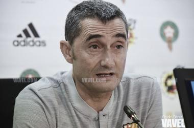 Ernesto Valverde en la previa | Foto de Noelia Déniz, VAVEL
