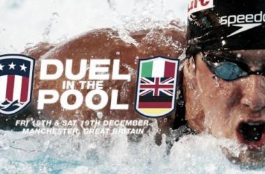 Cartel promocional del Duel in the Pool de 2011 (Foto: Speedo).