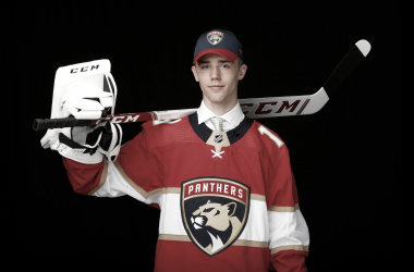 Spencer Knight, Florida Panthers Foto: NHL.com