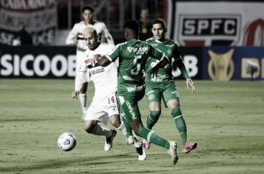 São Paulo 1 a 1 Chapecoense (CBF / Divulgação)