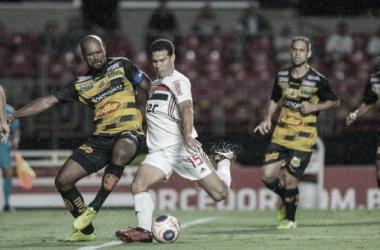 Novorizontino x São Paulo (São Paulo FC / Divulgação)