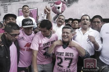 Sport Boys recibe el apoyo de César Acuña Foto: El Portal Rosado Facebook