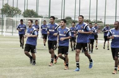 Leão segue dando sequência aos treinamentos para amistoso internacional (Foto: Divulgação/Sport)