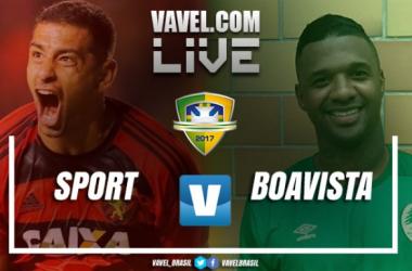 Resultado Sport x Boavista-RJ pela Copa do Brasil 2017 (1-0)