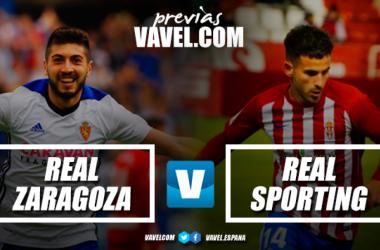 Previa Real Zaragoza - Sporting de Gijón: lucha en dirección a Primera