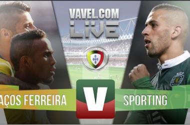 ResultadoPaços Ferreira 1-3 Sporting na Liga NOS 2015-2016