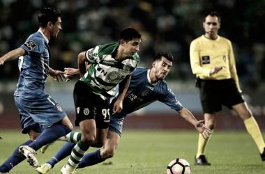 Sporting vs. Feirense. | Fuente: LUSA