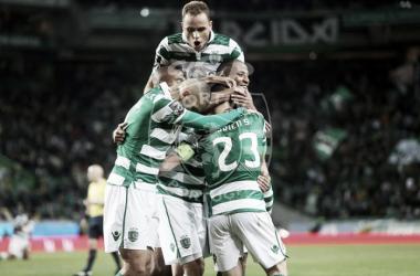 O Sporting sofreu mas venceu a Académica (foto: José Cruz /Facebook Oficial Sporting CP)